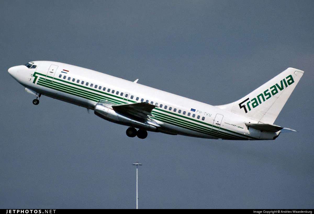 PH-TVU - Boeing 737-2K2(Adv) - Transavia Airlines