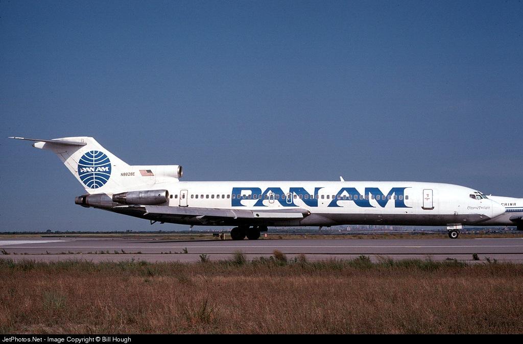 N8828E - Boeing 727-225 - Pan Am