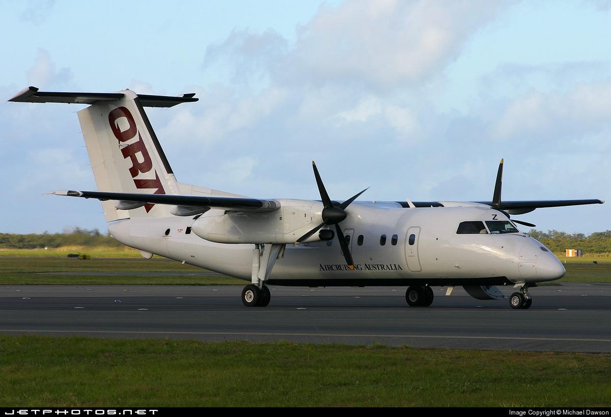 VH-JSZ - Bombardier Dash 8-102 - Queensland Regional Airlines (QRA)