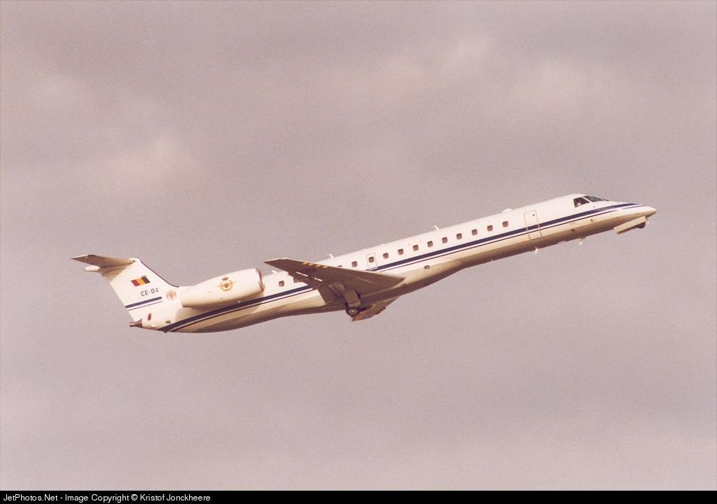 CE-04 - Embraer ERJ-145LR - Belgium - Air Force