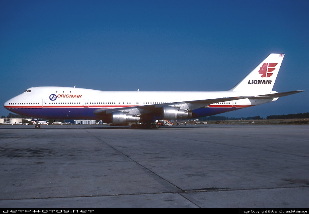 LX-GCV - Boeing 747-121 - Lionair