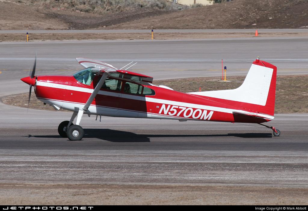 N5700M - Cessna 185D Skywagon - Private