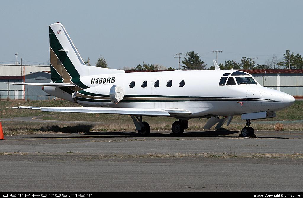 N468RB - North American Sabreliner 60 - Private