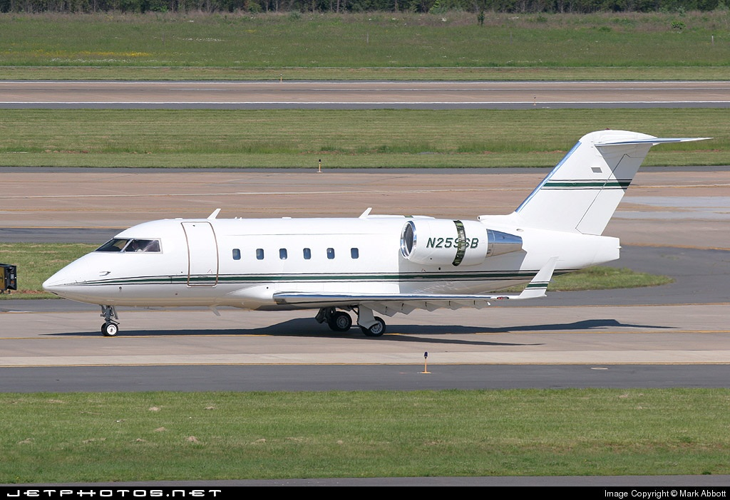 N25SB - Bombardier CL-600-2B16 Challenger 601-3A - Private