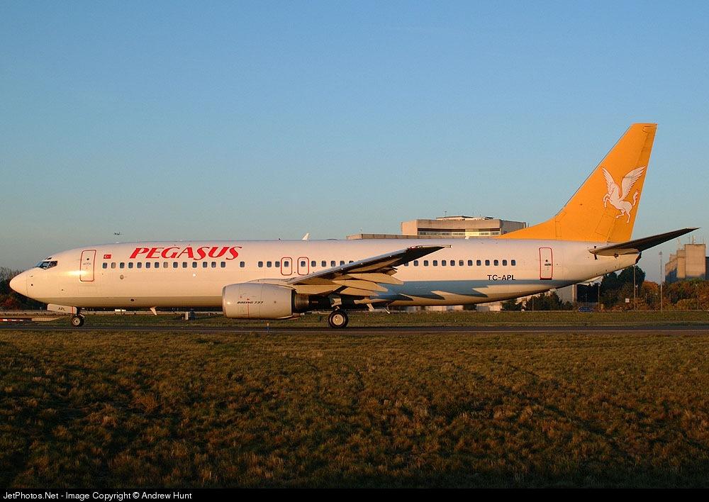 TC-APL - Boeing 737-86N - Pegasus Airlines