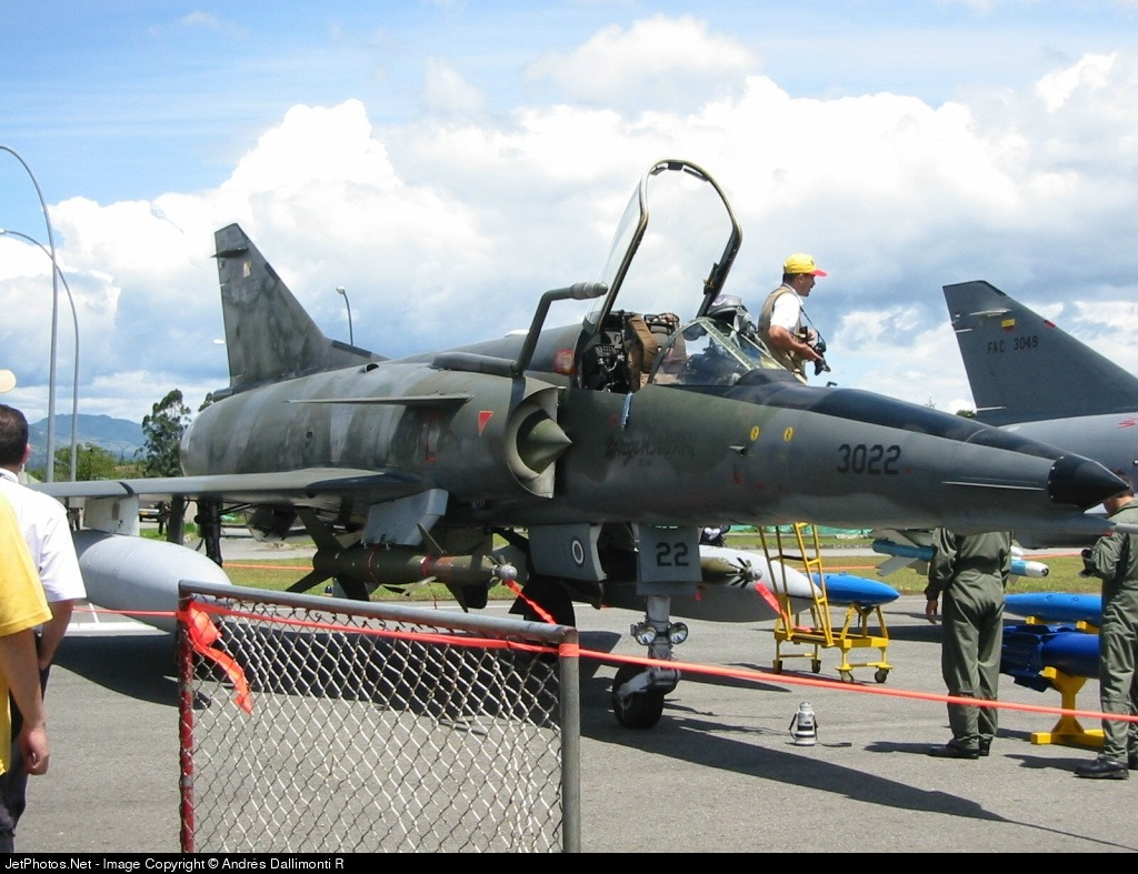 FAC3022 - Dassault Mirage 5COAM - Colombia - Air Force