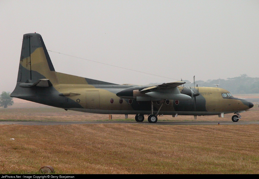 A-2707 - Fokker F27-500 Friendship - Indonesia - Air Force