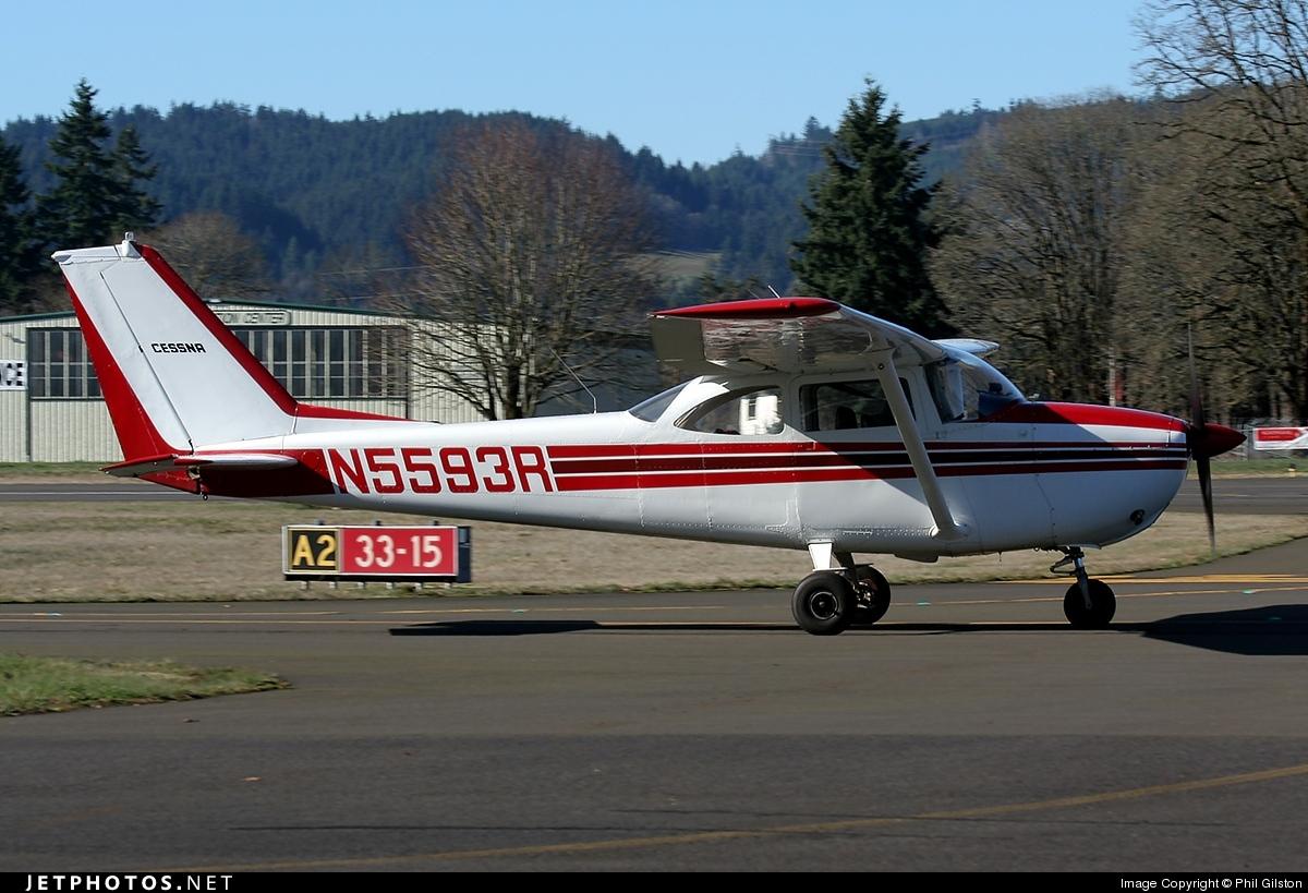 N5593R - Cessna 172F Skyhawk - Private