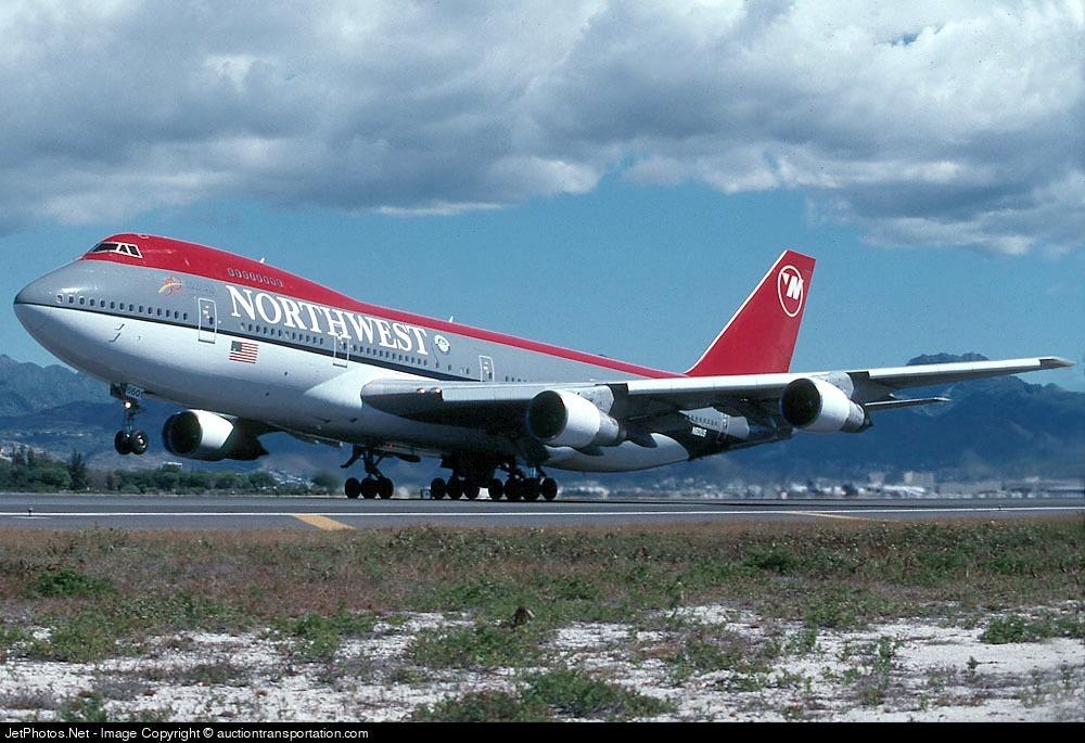 N601US - Boeing 747-151 - Northwest Airlines