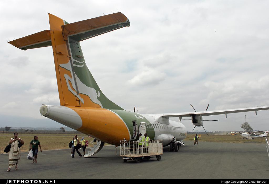 5H-PWC - ATR 72-200 - Precision Air