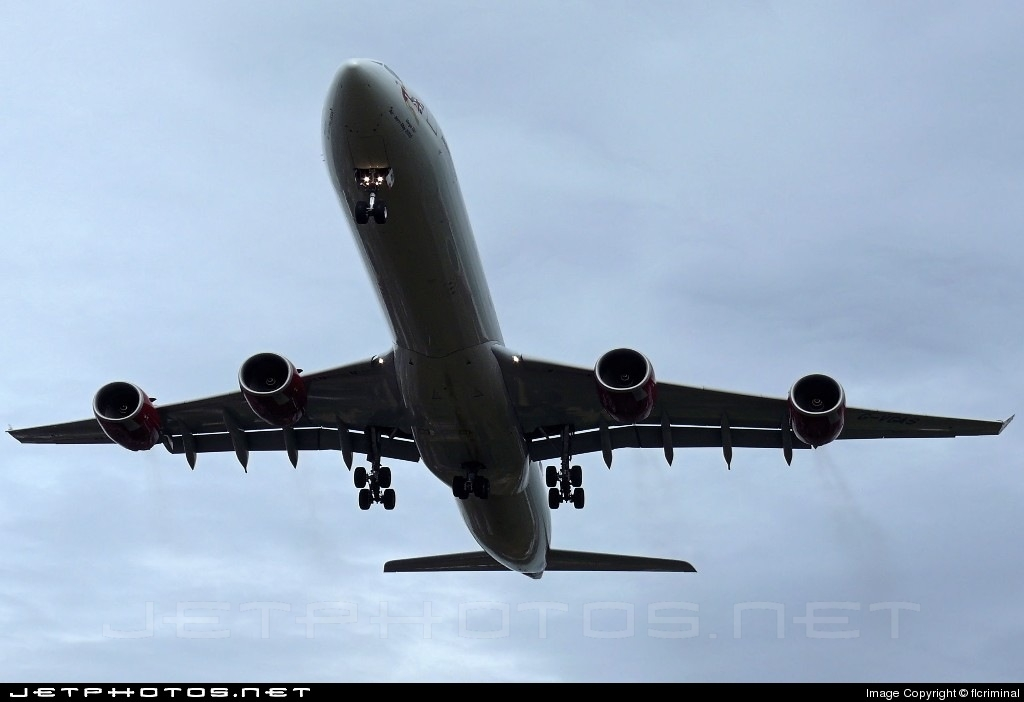 G-VGAS - Airbus A340-642 - Virgin Atlantic Airways