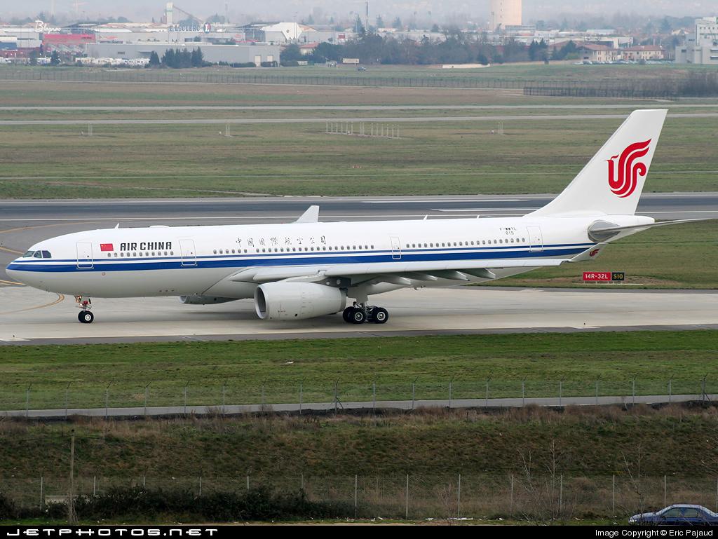 F-WWYL - Airbus A330-243 - Air China