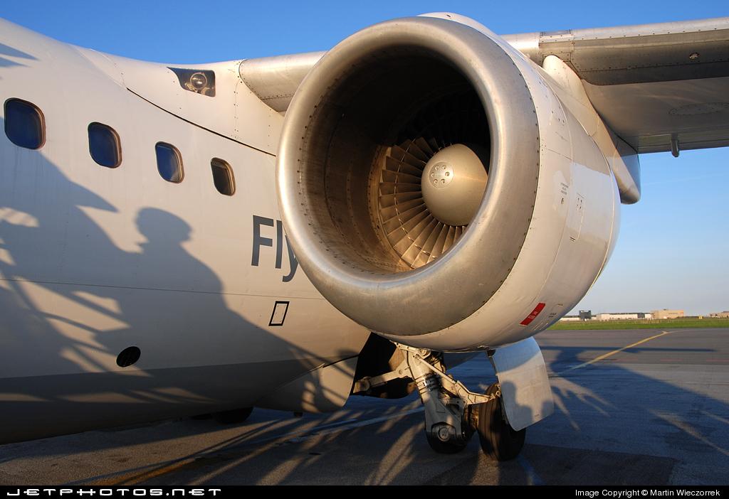 D-AWDL - British Aerospace BAe 146-100 - Scandinavian Airlines (WDL Aviation)