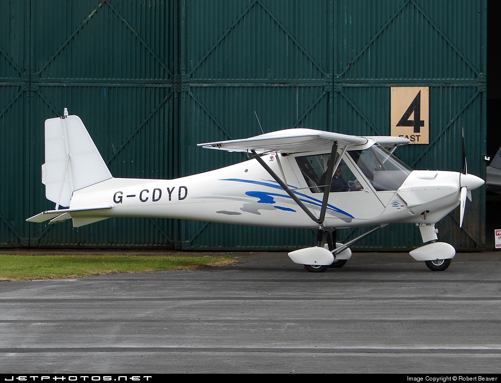G-CDYD - Ikarus C-42 - Private