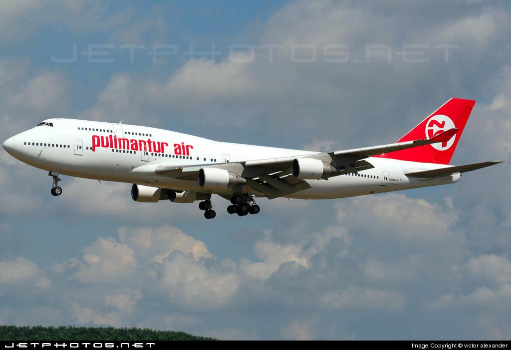 N703AC - Boeing 747-4H6 - Pullmantur Air