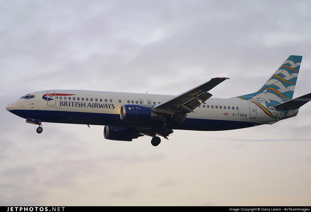 G-TREN - Boeing 737-4S3 - British Airways (GB Airways)