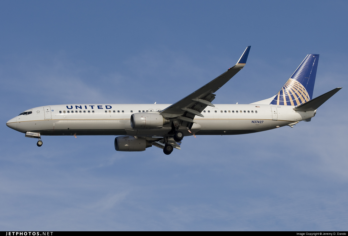 N37427 - Boeing 737-924ER - United Airlines (Continental Airlines)