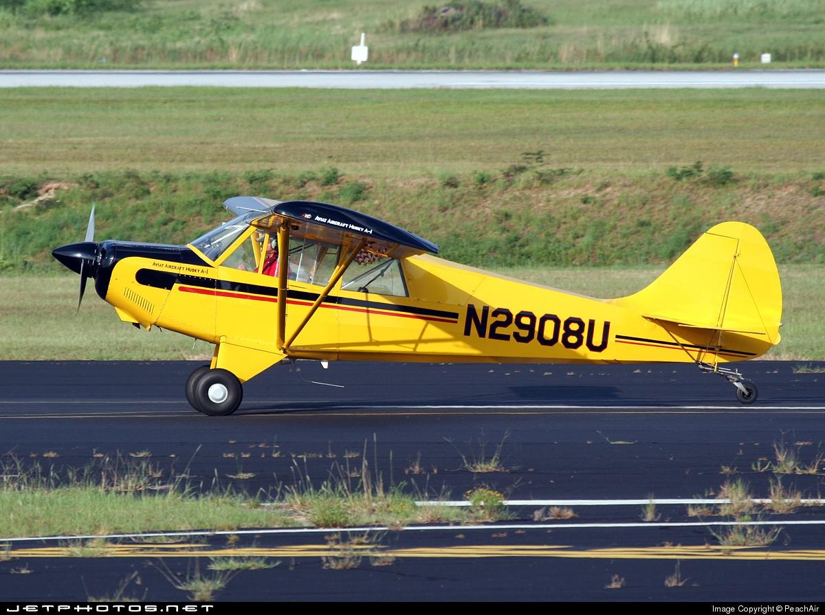 N2908U - Aviat A-1B Husky - Private