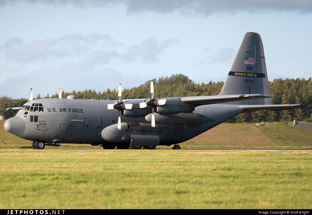 95-6709 - Lockheed C-130H Hercules - United States - US Air Force (USAF)