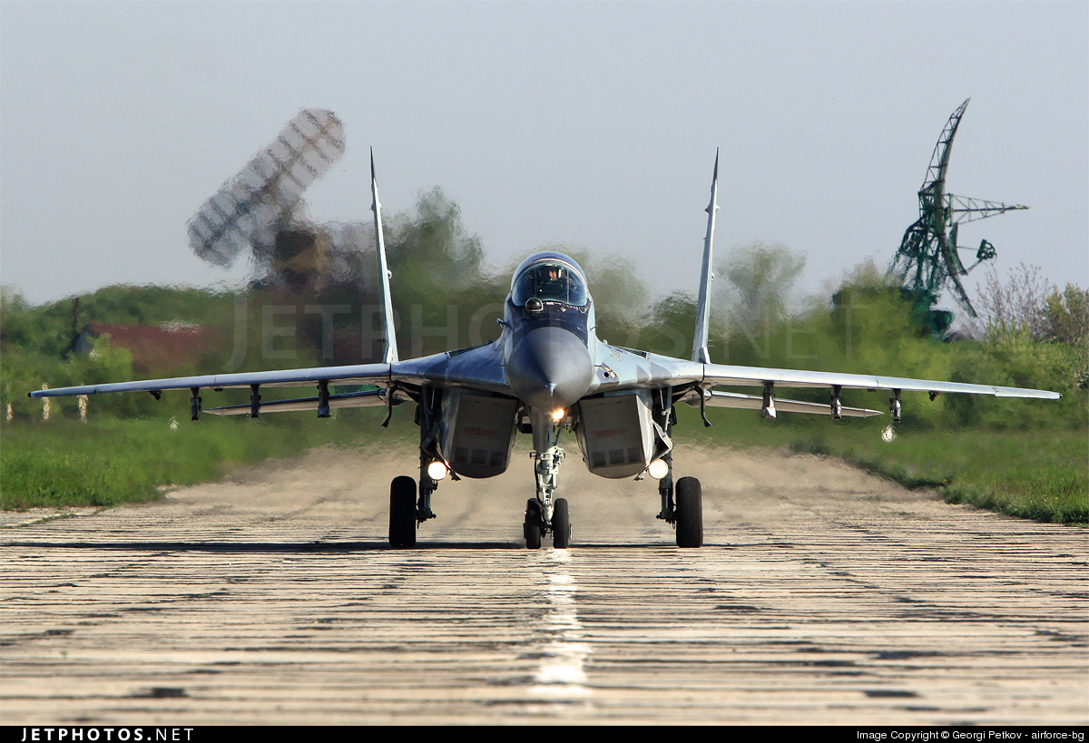 16 - Mikoyan-Gurevich MiG-29A Fulcrum - Bulgaria - Air Force
