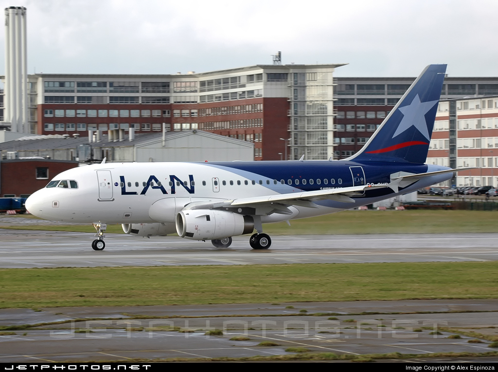 CC-CVR - Airbus A318-121 - LAN Airlines