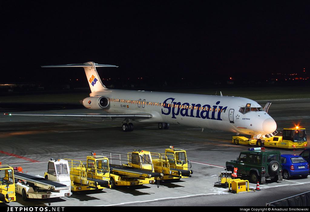 EC-HKP - McDonnell Douglas MD-83 - Spanair