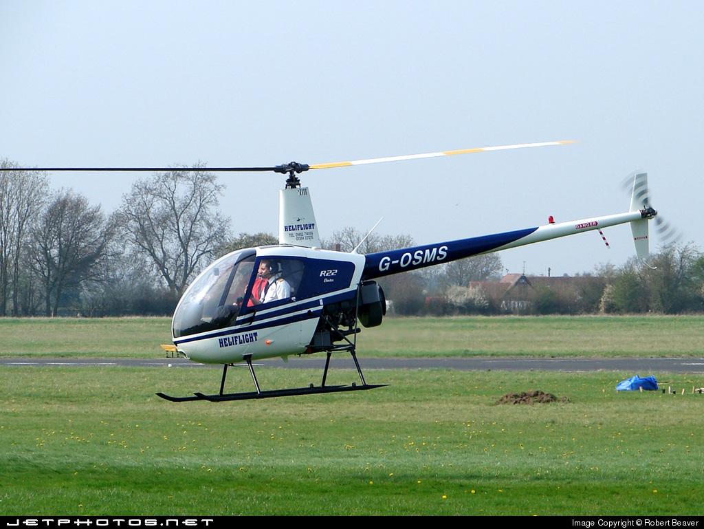 G-OSMS - Robinson R22 Beta - Heliflight UK