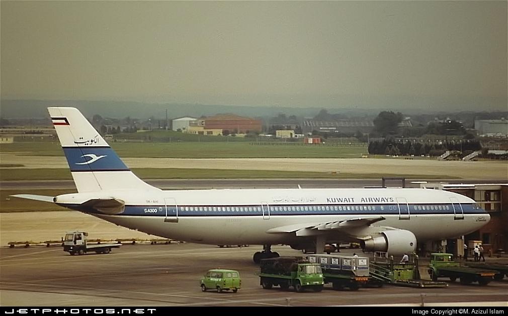 9K-AHI - Airbus A300C4-620 - Kuwait Airways