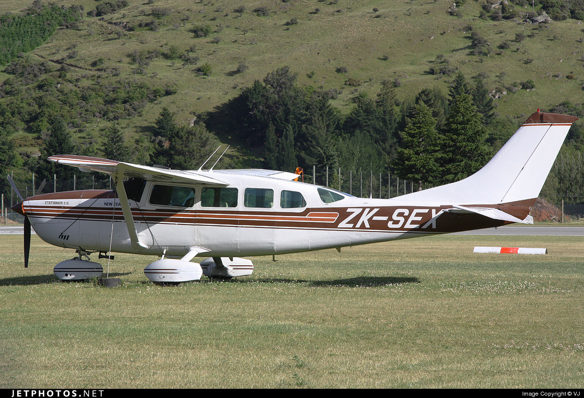 ZK-SEX - Cessna T207A Turbo Stationair 8 - Milford Sound Flightseeing