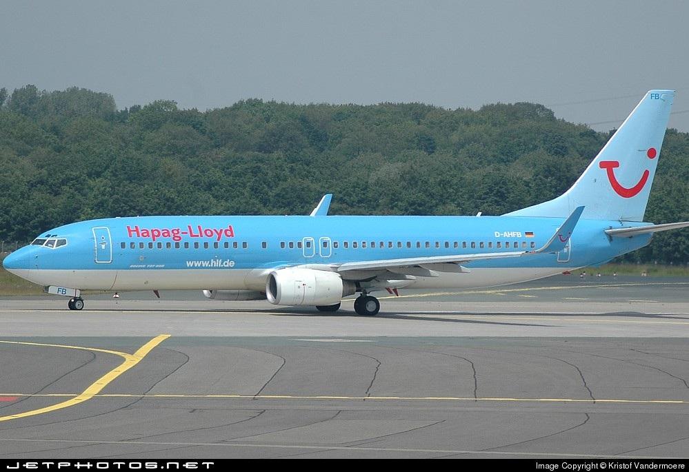 D-AHFB - Boeing 737-8K5 - Hapag-Lloyd