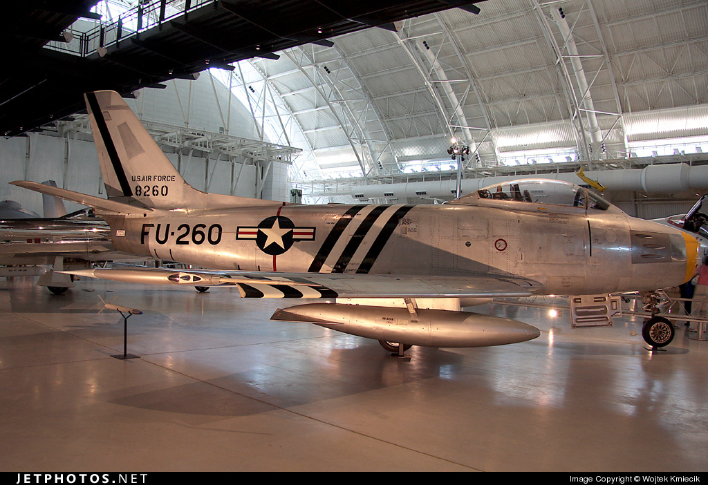48-8260 - North American F-86A Sabre - United States - US Air Force (USAF)