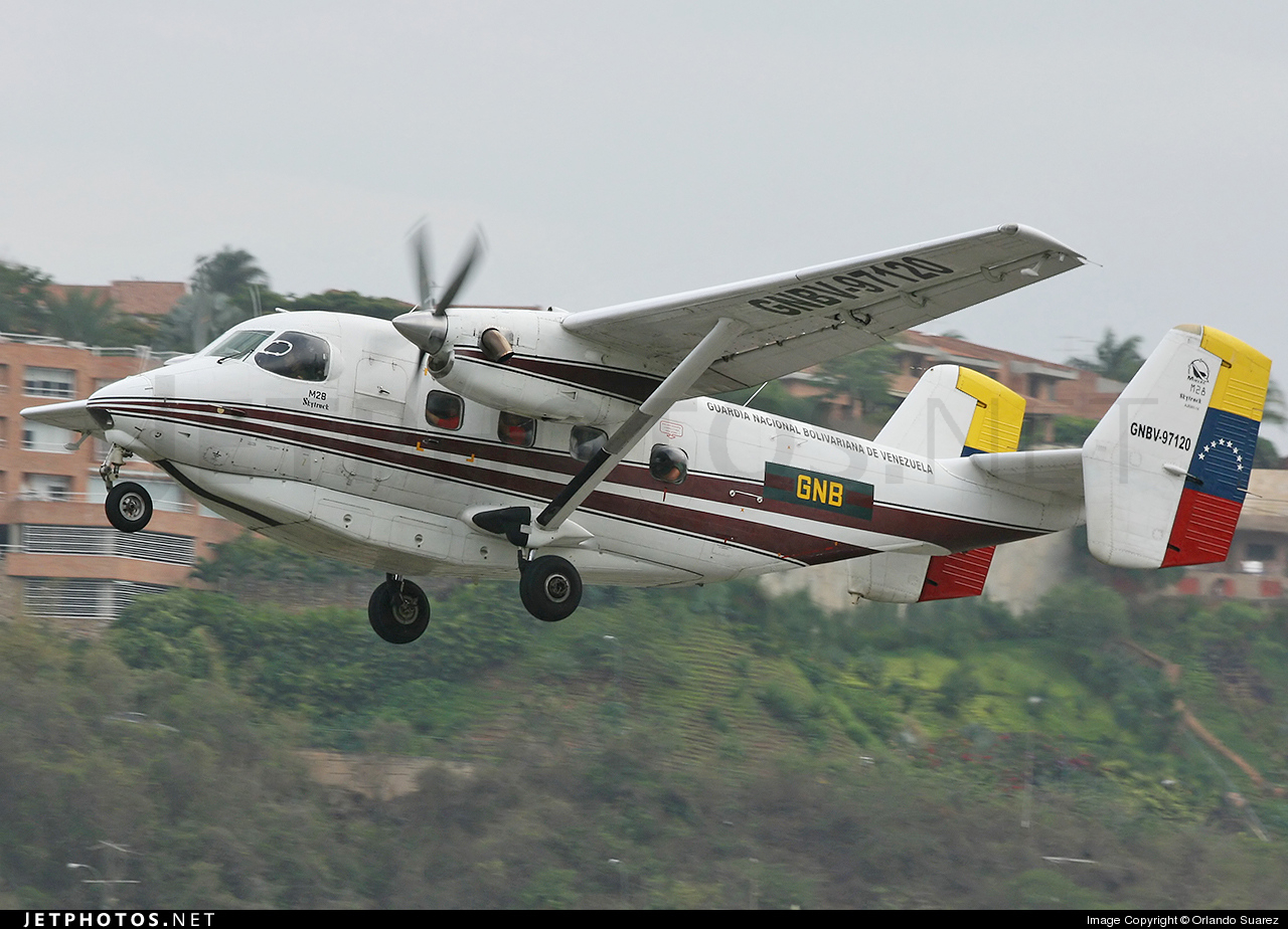 GNBV-97120 - PZL-Mielec M-28 Skytruck - Venezuela - National Guard