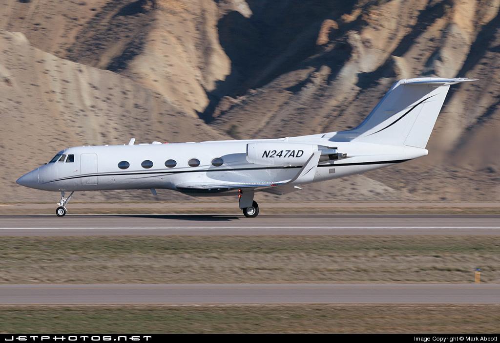 N247AD - Gulfstream G-II - Private