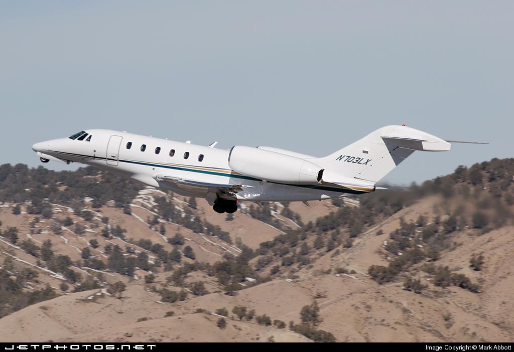 N703LX - Cessna 750 Citation X - Flight Options