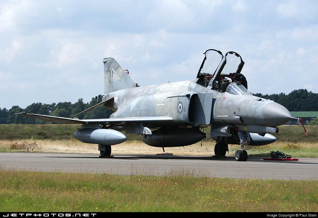 01525 - McDonnell Douglas F-4E AUP Phantom II - Greece - Air Force