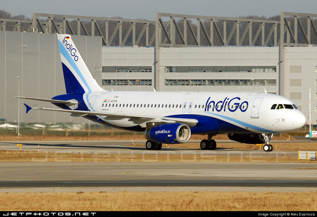D-AVVK - Airbus A320-232 - IndiGo Airlines