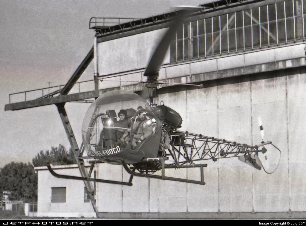 I-VFED - Agusta-Bell AB-47G-2 - Italy - Vigili del Fuoco