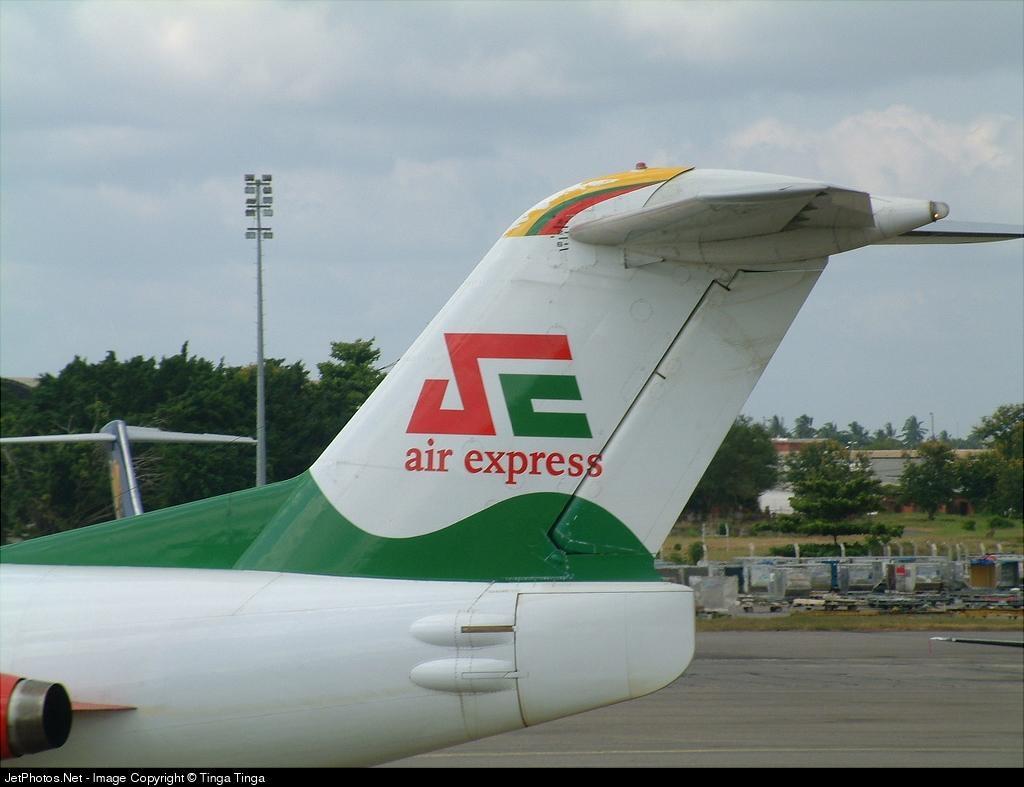 5H-JAS - Fokker F28-4000 Fellowship - Air Express Tanzania