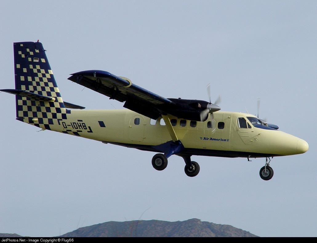 D-IDHB - De Havilland Canada DHC-6-300 Twin Otter - Private