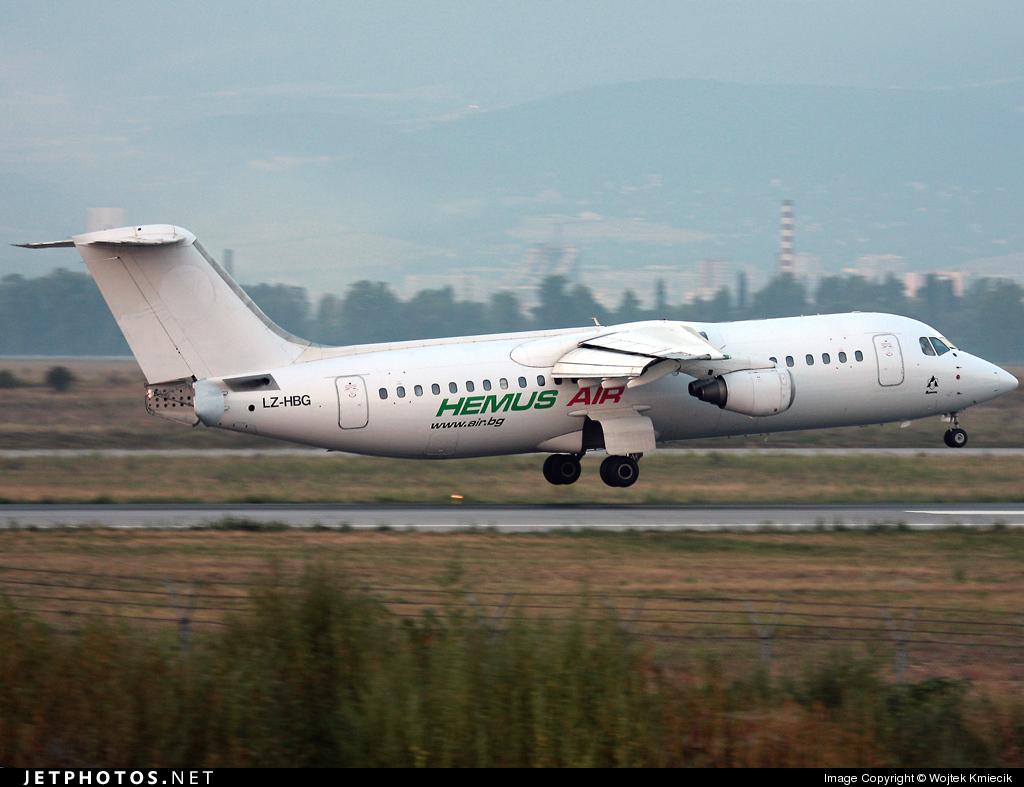 LZ-HBG - British Aerospace BAe 146-300 - Taban Air (Hemus Air)