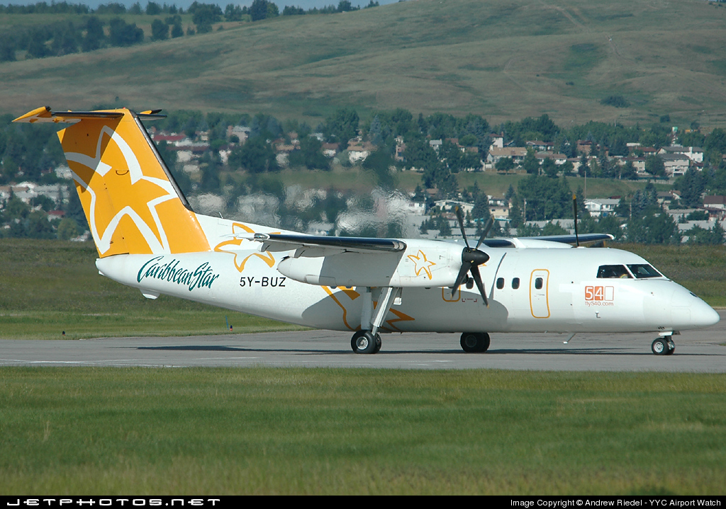 5Y-BUZ - Bombardier Dash 8-103A - Fly540