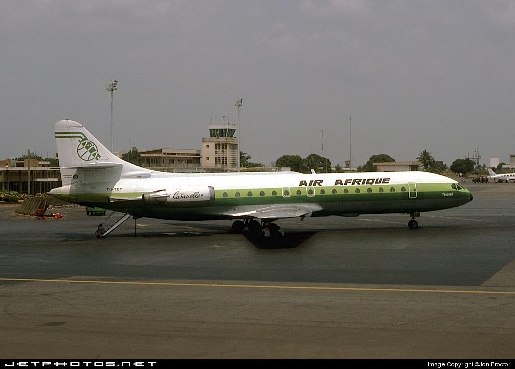 TU-TCY - Sud Aviation SE 210 Caravelle 11R - Air Afrique
