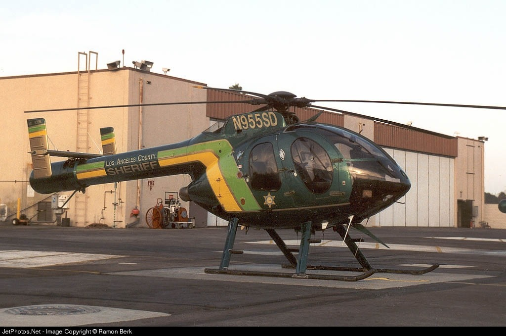 N955SD - MD Helicopters MD-520N - United States - Los Angeles County Sheriff