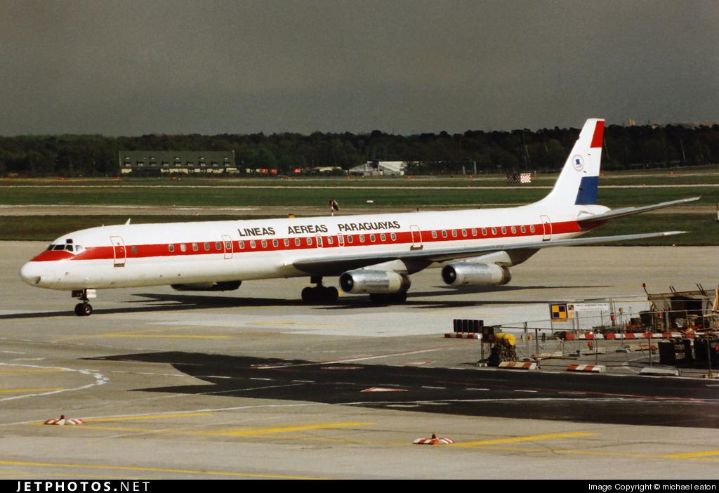 ZP-CCH - Douglas DC-8-63 - Líneas Aéreas Paraguayas (LAP)