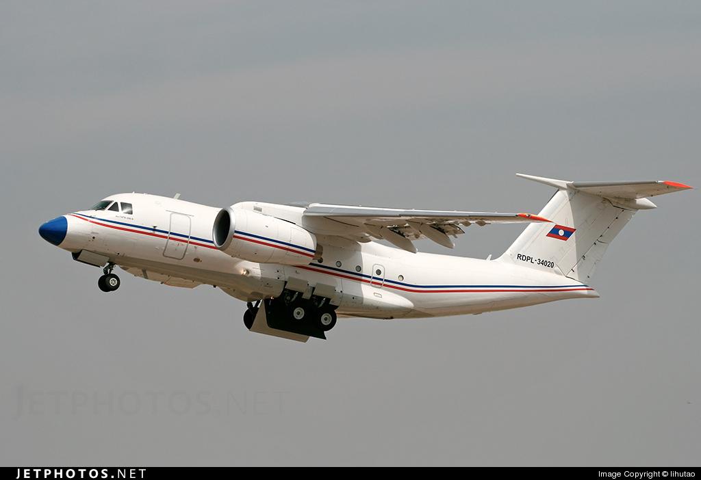 RDPL-34020 - Antonov An-74TK-300D - Laos - Air Force