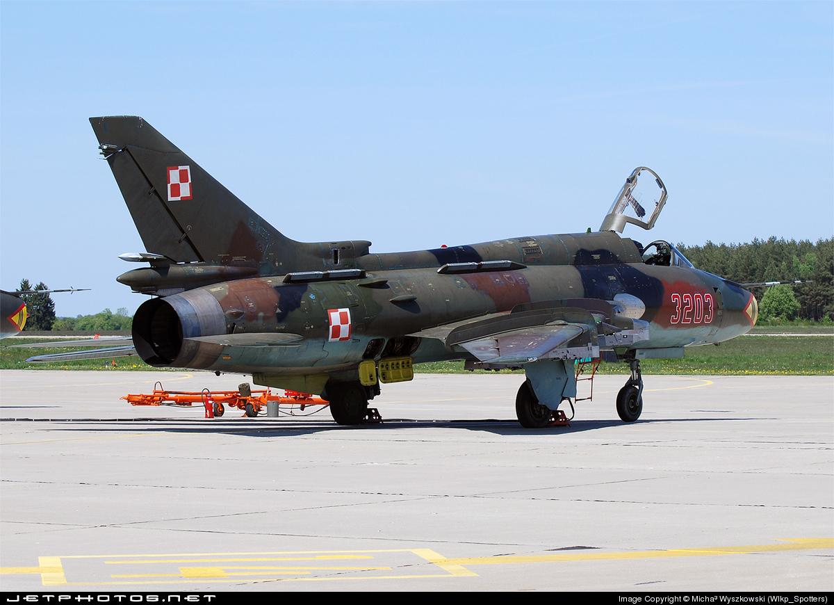 3203 - Sukhoi Su-22M4 Fitter K - Poland - Air Force