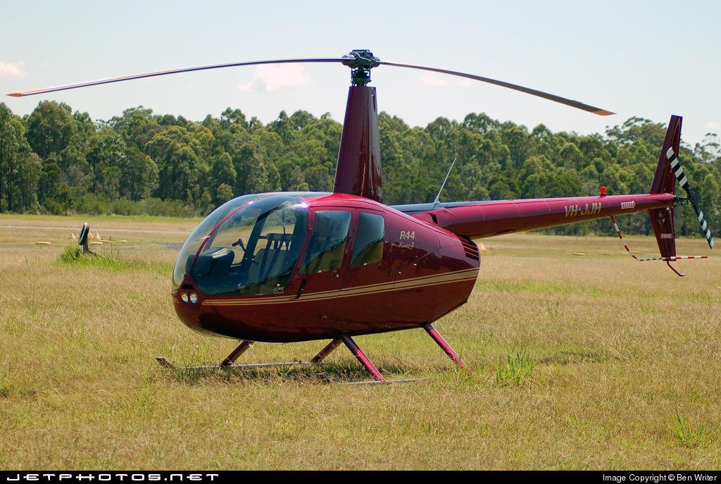 VH-JJH - Robinson R44 Raven II - Private
