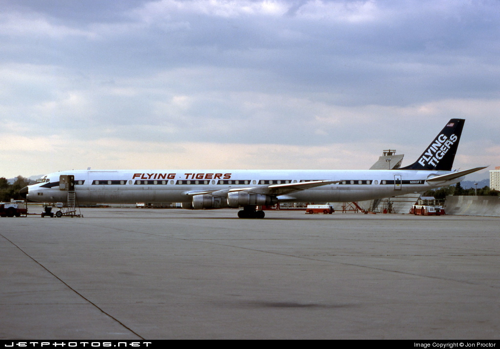 N860FT - Douglas DC-8-61(CF) - Flying Tigers