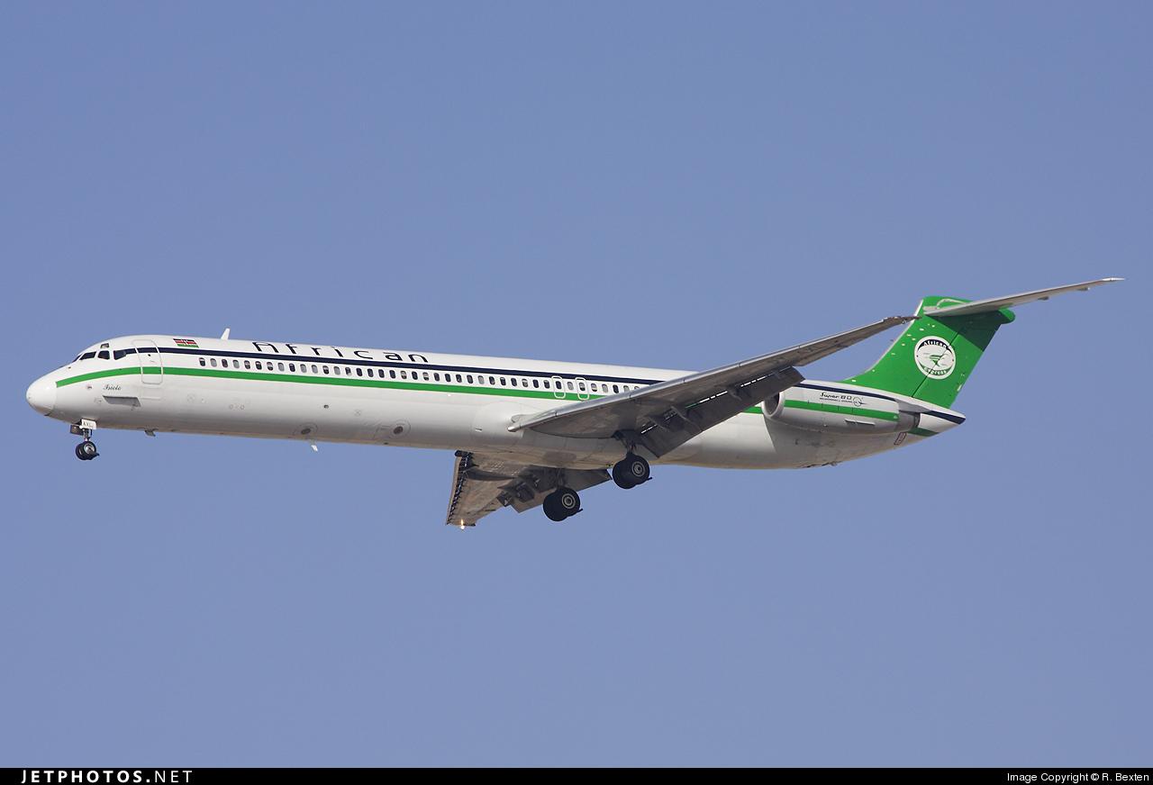 5Y-AXL - McDonnell Douglas MD-82 - African Express Airways