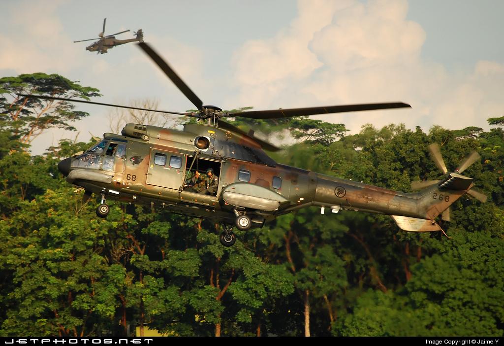268 - Aérospatiale AS 332M1 Super Puma - Singapore - Air Force